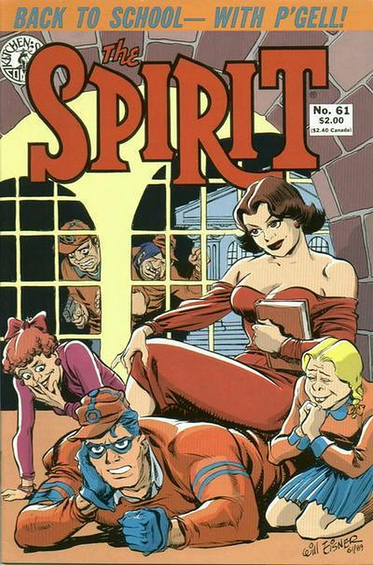 Cover of Spirit (Kitchen Sink) (Vol 1) #61. One of 250,000 Vintage American Comics on sale from Krypton!