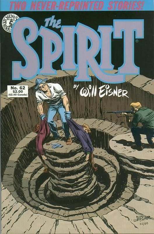 Cover of Spirit (Kitchen Sink) (Vol 1) #62. One of 250,000 Vintage American Comics on sale from Krypton!