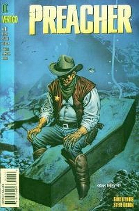 Cover of Preacher #11. One of 250,000 Vintage American Comics on sale from Krypton!