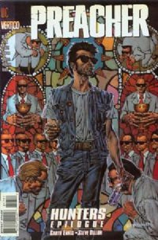Cover of Preacher #17. One of 250,000 Vintage American Comics on sale from Krypton!