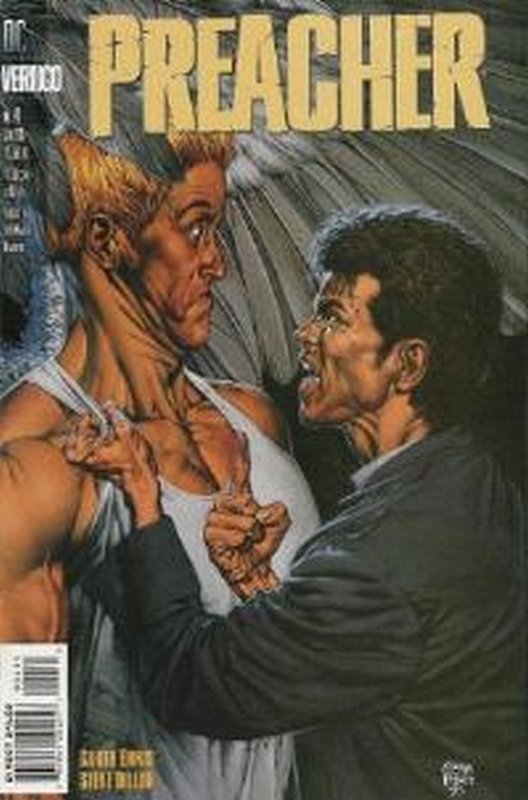 Cover of Preacher #4. One of 250,000 Vintage American Comics on sale from Krypton!