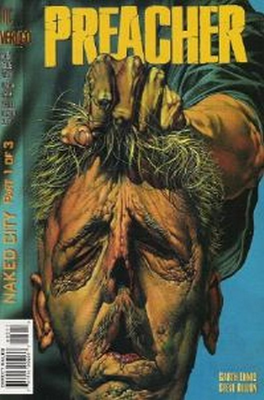 Cover of Preacher #5. One of 250,000 Vintage American Comics on sale from Krypton!