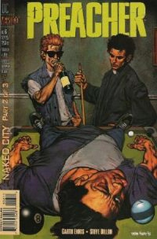 Cover of Preacher #6. One of 250,000 Vintage American Comics on sale from Krypton!