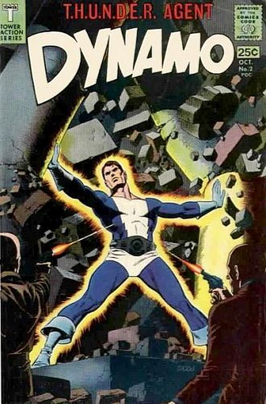 Cover of Dynamo  (Vol 1) #2. One of 250,000 Vintage American Comics on sale from Krypton!