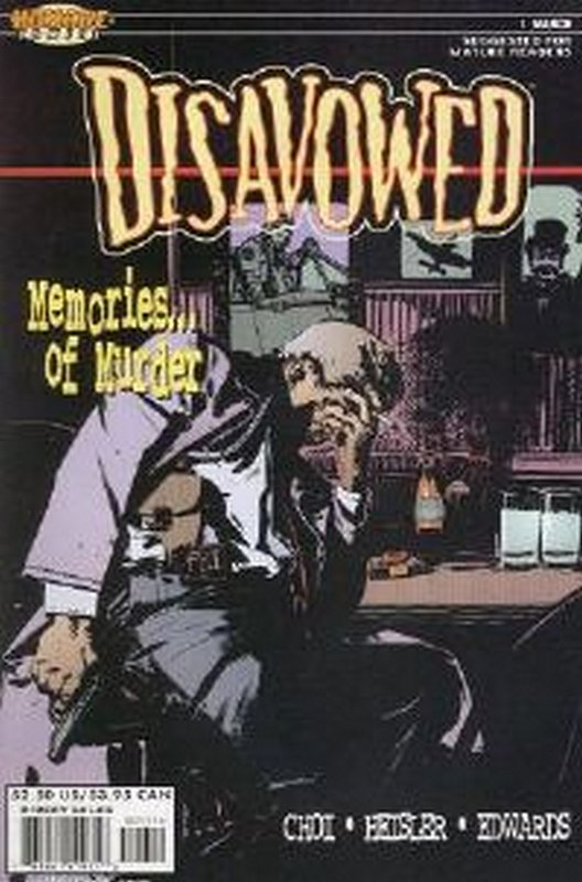 Cover of Disavowed (2000 Ltd) #1. One of 250,000 Vintage American Comics on sale from Krypton!