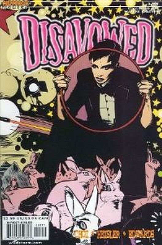 Cover of Disavowed (2000 Ltd) #3. One of 250,000 Vintage American Comics on sale from Krypton!