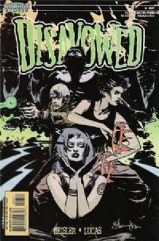 Cover of Disavowed (2000 Ltd) #6. One of 250,000 Vintage American Comics on sale from Krypton!