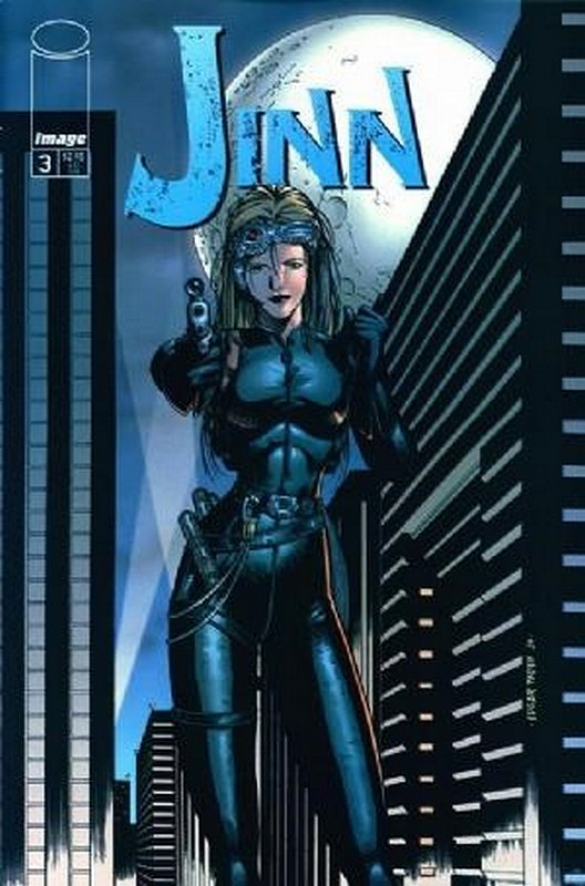 Cover of Jinn (Vol 1) #3. One of 250,000 Vintage American Comics on sale from Krypton!