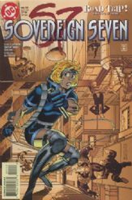 Cover of Sovereign Seven (Vol 1) #11. One of 250,000 Vintage American Comics on sale from Krypton!