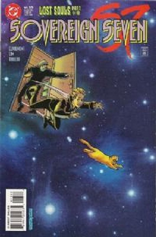 Cover of Sovereign Seven (Vol 1) #13. One of 250,000 Vintage American Comics on sale from Krypton!