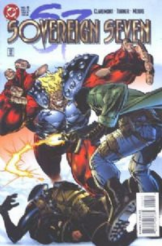 Cover of Sovereign Seven (Vol 1) #6. One of 250,000 Vintage American Comics on sale from Krypton!