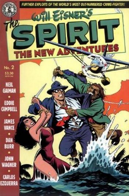Cover of Spirit: The New Adventures (Vol 1) #2. One of 250,000 Vintage American Comics on sale from Krypton!