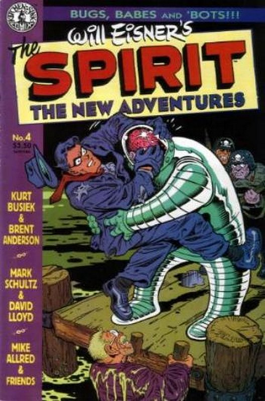 Cover of Spirit: The New Adventures (Vol 1) #4. One of 250,000 Vintage American Comics on sale from Krypton!