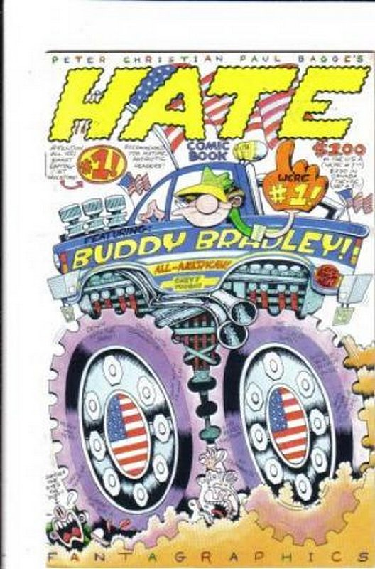 Cover of Hate (Vol 1) #1. One of 250,000 Vintage American Comics on sale from Krypton!