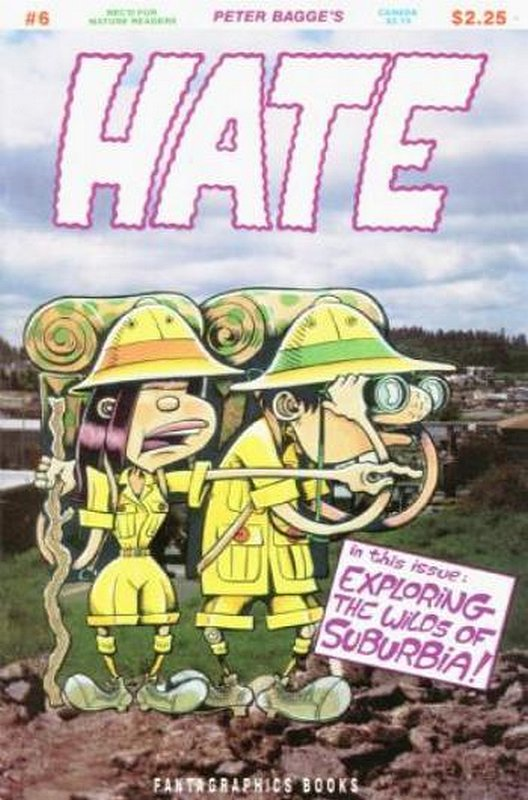 Cover of Hate (Vol 1) #6. One of 250,000 Vintage American Comics on sale from Krypton!