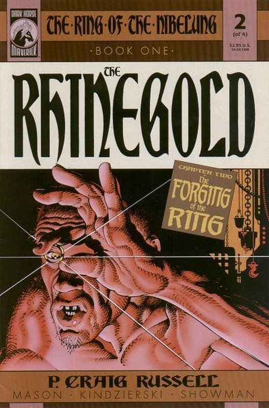 Cover of Ring of the Nibelung: Rhinegold (2000 Ltd) #2. One of 250,000 Vintage American Comics on sale from Krypton!