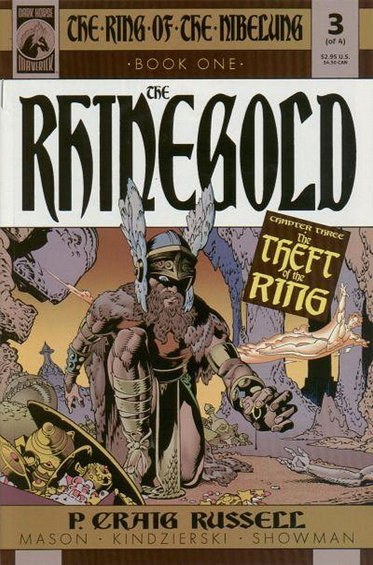 Cover of Ring of the Nibelung: Rhinegold (2000 Ltd) #3. One of 250,000 Vintage American Comics on sale from Krypton!