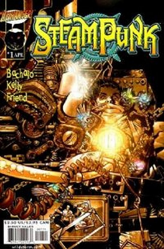 Cover of Steampunk (Vol 1) #1. One of 250,000 Vintage American Comics on sale from Krypton!