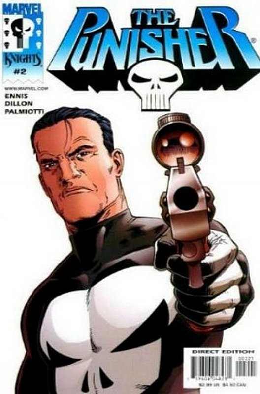 Cover of Punisher (2000 Ltd) #2. One of 250,000 Vintage American Comics on sale from Krypton!