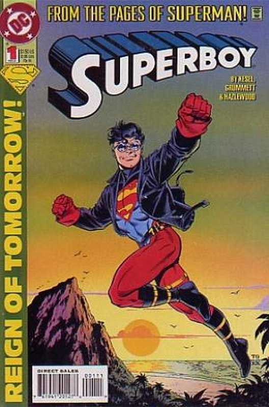Cover of Superboy (Vol 3) #1. One of 250,000 Vintage American Comics on sale from Krypton!
