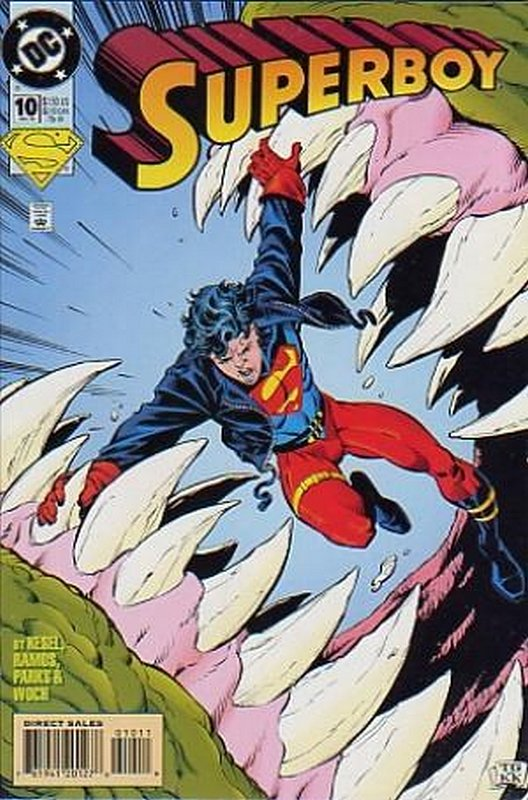 Cover of Superboy (Vol 3) #10. One of 250,000 Vintage American Comics on sale from Krypton!