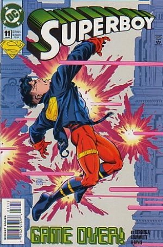 Cover of Superboy (Vol 3) #11. One of 250,000 Vintage American Comics on sale from Krypton!