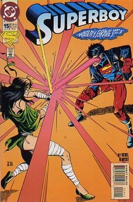 Cover of Superboy (Vol 3) #15. One of 250,000 Vintage American Comics on sale from Krypton!
