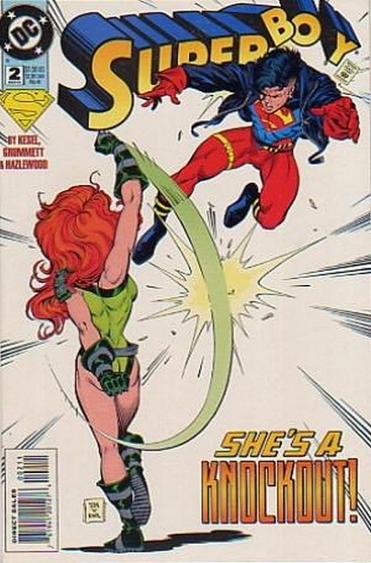 Cover of Superboy (Vol 3) #2. One of 250,000 Vintage American Comics on sale from Krypton!