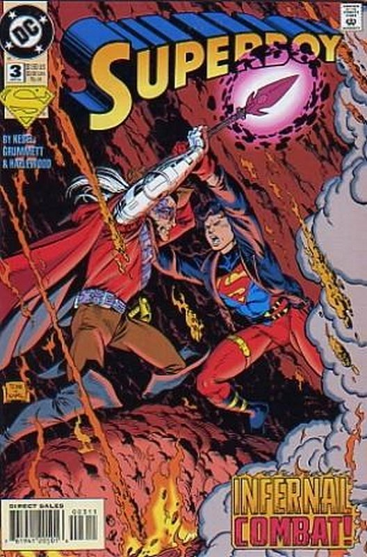 Cover of Superboy (Vol 3) #3. One of 250,000 Vintage American Comics on sale from Krypton!