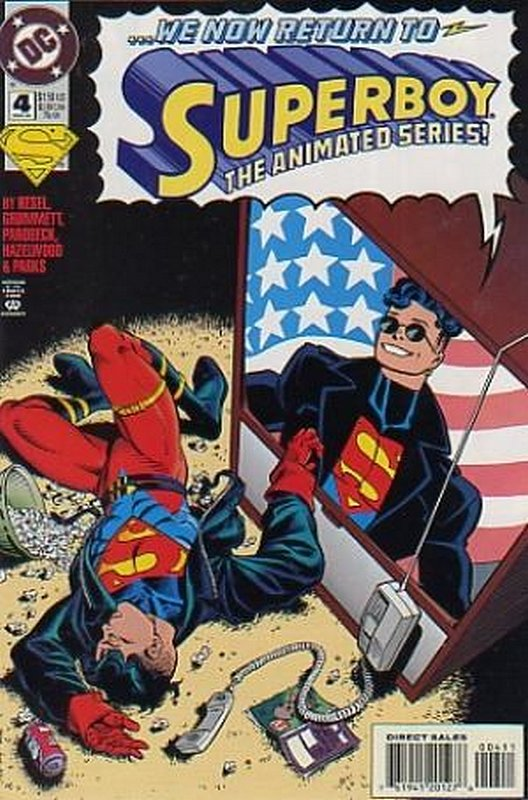 Cover of Superboy (Vol 3) #4. One of 250,000 Vintage American Comics on sale from Krypton!