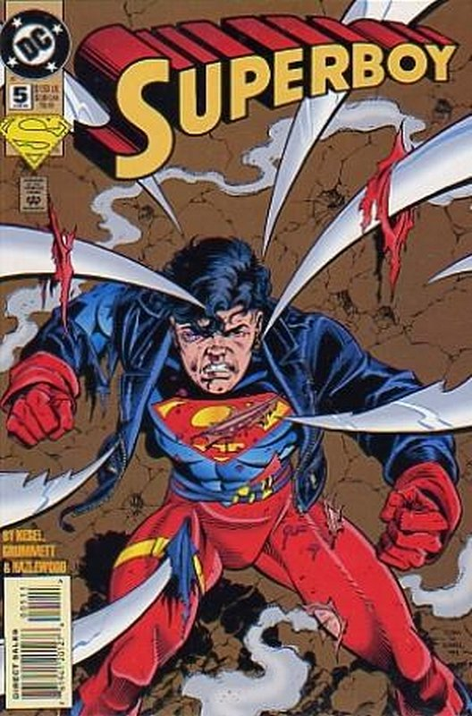 Cover of Superboy (Vol 3) #5. One of 250,000 Vintage American Comics on sale from Krypton!