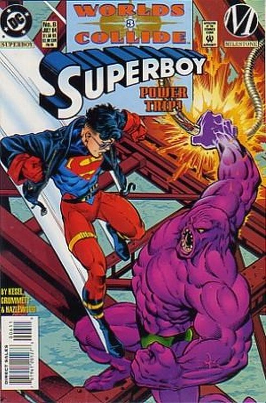 Cover of Superboy (Vol 3) #6. One of 250,000 Vintage American Comics on sale from Krypton!