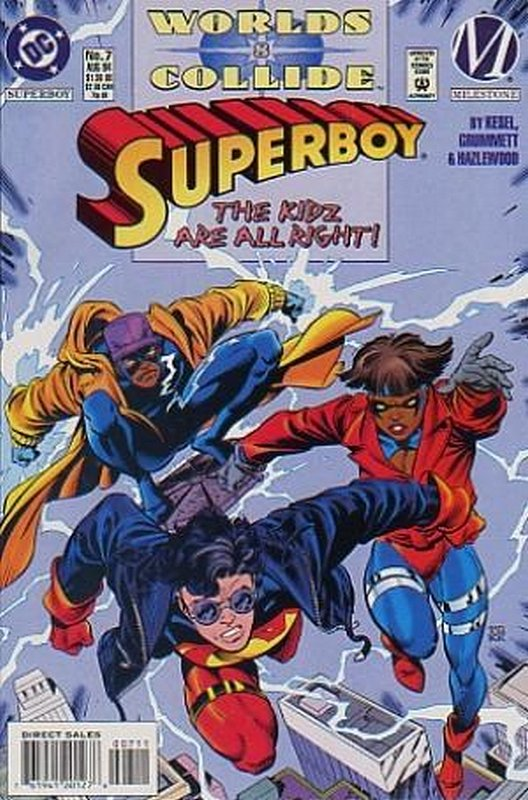 Cover of Superboy (Vol 3) #7. One of 250,000 Vintage American Comics on sale from Krypton!