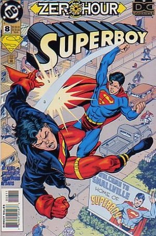 Cover of Superboy (Vol 3) #8. One of 250,000 Vintage American Comics on sale from Krypton!