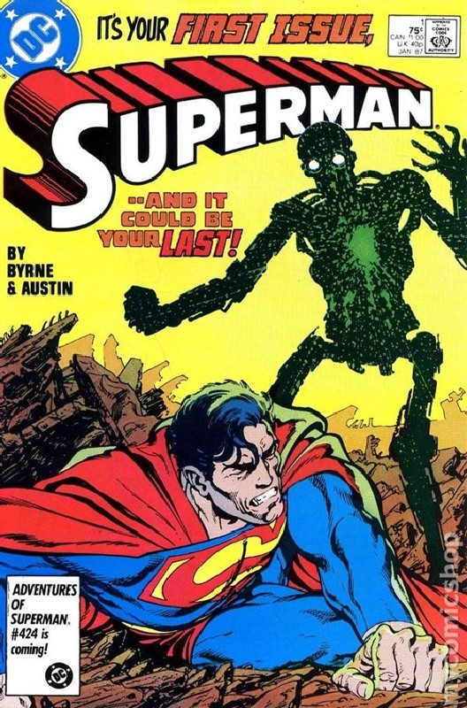 Cover of Superman (Vol 2) #1. One of 250,000 Vintage American Comics on sale from Krypton!