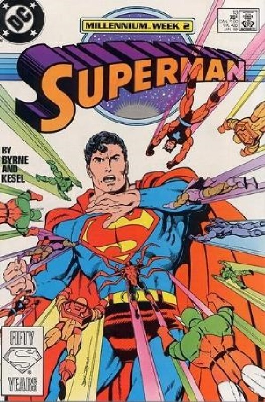 Cover of Superman (Vol 2) #13. One of 250,000 Vintage American Comics on sale from Krypton!