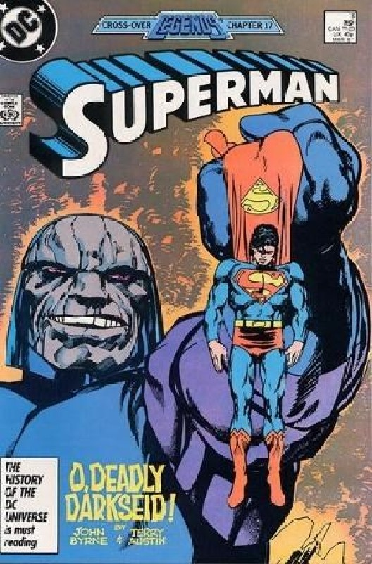 Cover of Superman (Vol 2) #3. One of 250,000 Vintage American Comics on sale from Krypton!