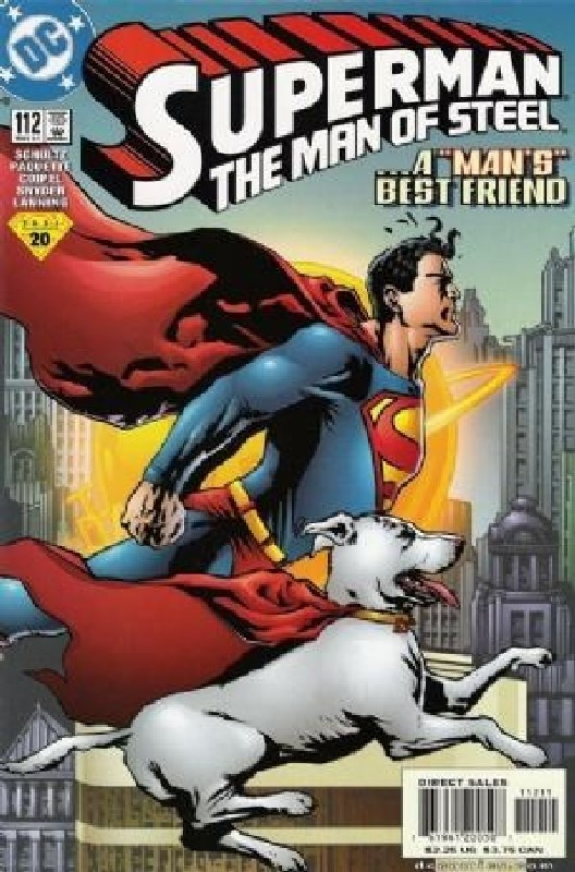 Cover of Superman: Man of Steel (Vol 1) #112. One of 250,000 Vintage American Comics on sale from Krypton!