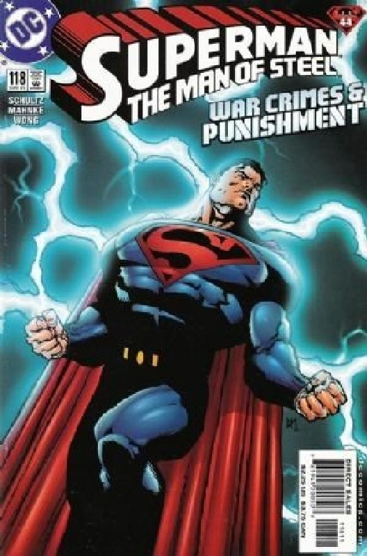 Cover of Superman: Man of Steel (Vol 1) #118. One of 250,000 Vintage American Comics on sale from Krypton!