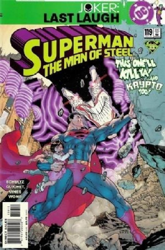 Cover of Superman: Man of Steel (Vol 1) #119. One of 250,000 Vintage American Comics on sale from Krypton!
