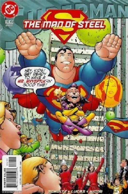 Cover of Superman: Man of Steel (Vol 1) #132. One of 250,000 Vintage American Comics on sale from Krypton!