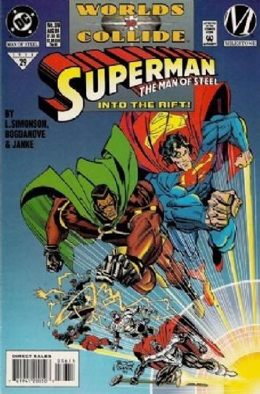 Cover of Superman: Man of Steel (Vol 1) #36. One of 250,000 Vintage American Comics on sale from Krypton!