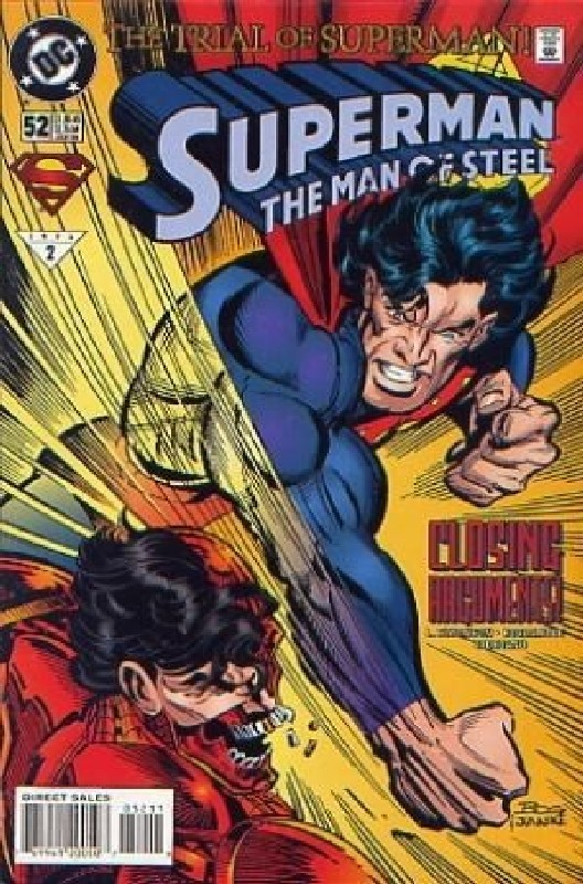 Cover of Superman: Man of Steel (Vol 1) #52. One of 250,000 Vintage American Comics on sale from Krypton!