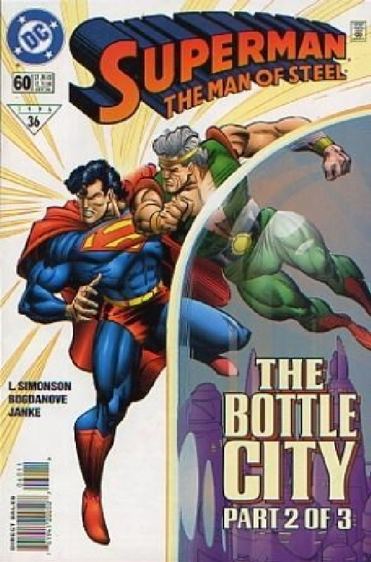 Cover of Superman: Man of Steel (Vol 1) #60. One of 250,000 Vintage American Comics on sale from Krypton!