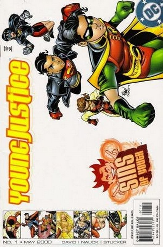 Cover of Young Justice: Sins of Youth #1. One of 250,000 Vintage American Comics on sale from Krypton!