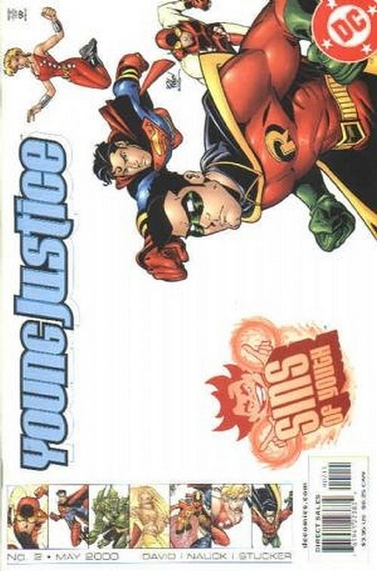 Cover of Young Justice: Sins of Youth #2. One of 250,000 Vintage American Comics on sale from Krypton!