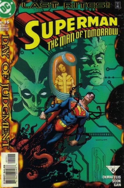 Cover of Superman: Man of Tomorrow (Vol 1) #15. One of 250,000 Vintage American Comics on sale from Krypton!