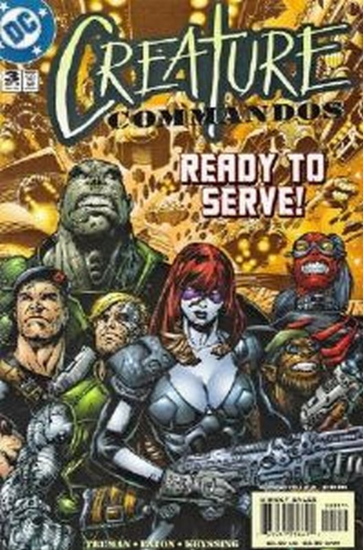 Cover of Creature Commandos (2000 Ltd) #3. One of 250,000 Vintage American Comics on sale from Krypton!