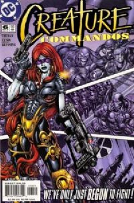 Cover of Creature Commandos (2000 Ltd) #6. One of 250,000 Vintage American Comics on sale from Krypton!