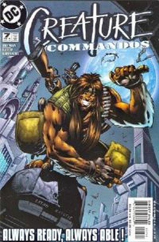 Cover of Creature Commandos (2000 Ltd) #7. One of 250,000 Vintage American Comics on sale from Krypton!